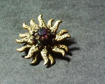 RUBY SUN Brooch.......