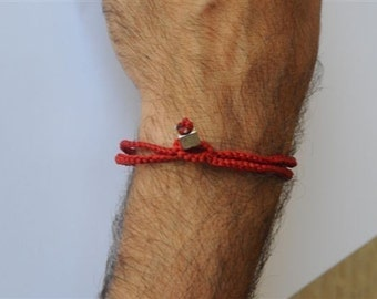 RED BRACELET MEN and variety of fashion lucky wrist accessories and jewelry kabbalah theme for keeping evil eye away