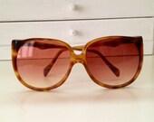 Vintage YSL Rive Gauche Tortoise Sunglasses