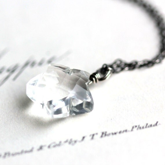 Wish - Star Crystal Quartz Pendant Necklace - Summer Fashion Modern Space
