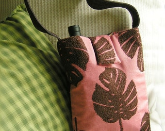 PDF Sewing Pattern - BYOB Wine Bottle Bag Purse (you make it)