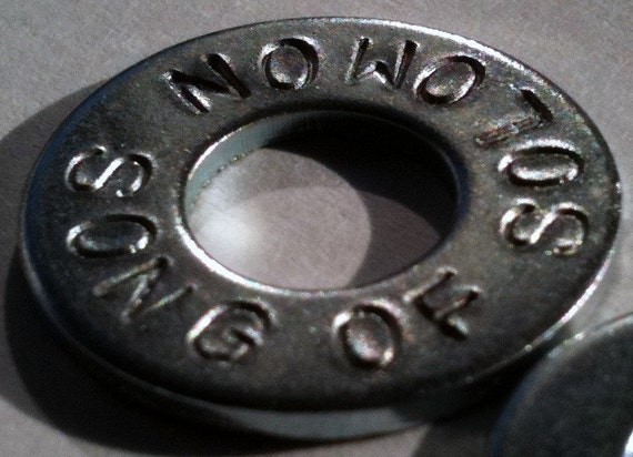 12 Stamped Washers