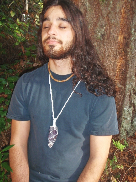 Auralite Crystal Necklace - 23 Minerals Crystal - Dancing of the Spirits
