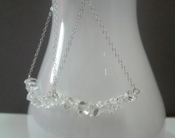 A Vineyard's Vines Earrings in Rock Crystal Quartz