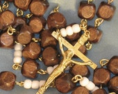 Wooden Mission Style Rosary