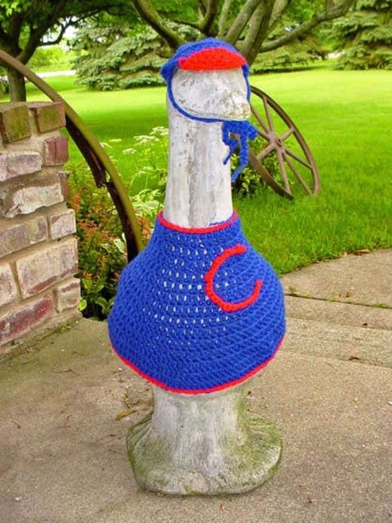 Chicago Cubs Goose Outfit