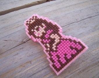 Pin-Princess Peach