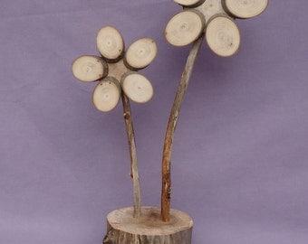 Wooden Flower (388)