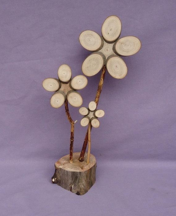 Wooden Flower (389)