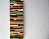Abstract Art on Wood