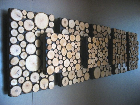 Rustic Wall Art, Modern Art, Wood Sculpture, Tree Branch