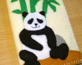 iphone case - ipod touch case - cell phone case - ipod case - Handmade Panda Case
