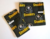 SALE - Pittsburgh Steelers Reusable Sandwich and Snack Bag Set