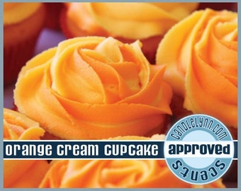 ORANGE CrEaM CUPCAKE scented Clam Shell Package - Tarts