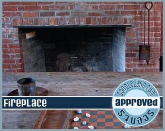 FIREPLACE Clam Shell Package - Tarts - Break Apart Melts