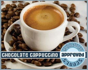 CHOCOLATE CAPPUCCINO Clam Shell Package - Tarts - Break Apart Melts