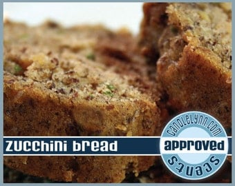 ZUCCHINI BREAD scented Clam Shell Package - Tarts