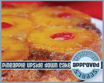 PINEAPPLE Upside Down CAKE Clam Shell Package - Tarts - Break Apart Melts