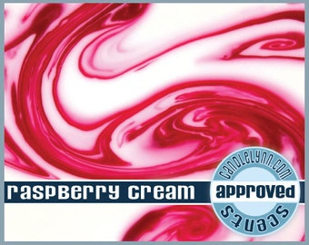 RASPBERRY CREAM scented Clam Shell Package - Tarts