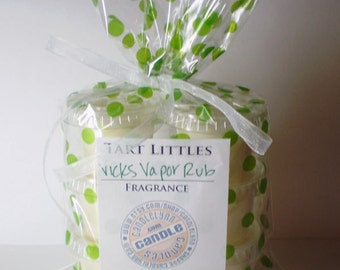 6 Soy Wax TART LITTLES - Vicks Vapor Rub TYpe