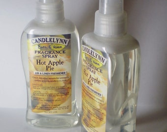 Fragrance Spray - HOT APPLE PIE - 8 oz - Bath & Home