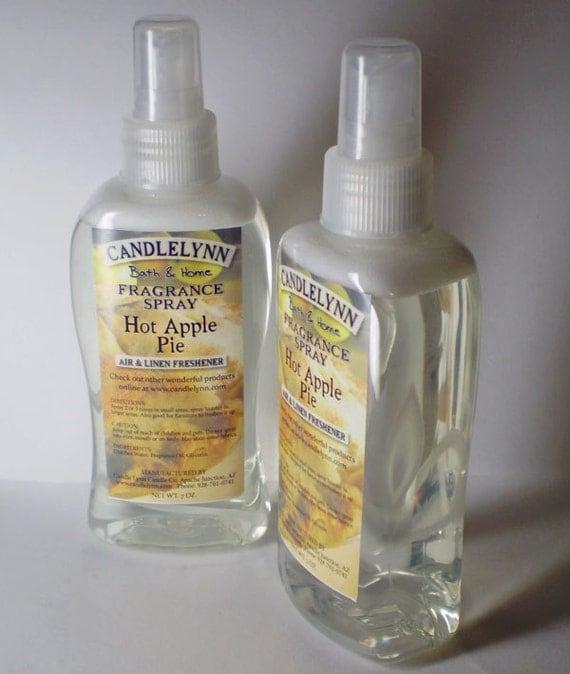 Fragrance Spray - HOT APPLE PIE - 8 oz - Bath & Home