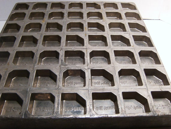 RESERVED FOR SUN     Vintage Candy Chocolate Soap Mold Tray