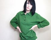 8 Dollar Spring Sale 1950s Vintage Vicky Golf Only On the Green Sweater