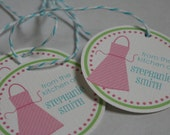 From the Kitchen Tags (Pink) - Set of 12