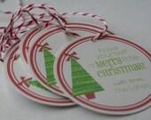O Christmas Tree Gift Tags - Set of 12