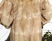 Antique 40s Authentic Sable MINK FUR Coat Jacket Outerwear