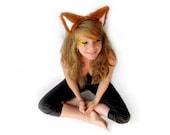 Fuzzy Fox Ears Headband