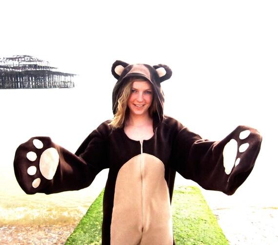 Big Brown Bear onesie