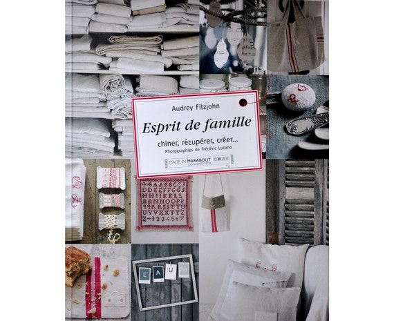 30% OFF SALE - French Craft and Decorating Book - Esprit de Famille