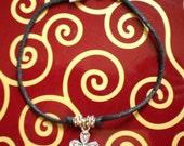 Rope cross charm bracelet (B43)