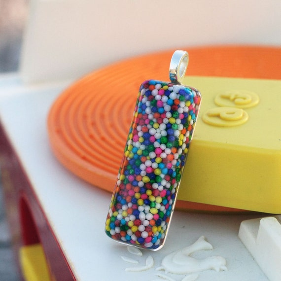Candy Sprinkle Pendant