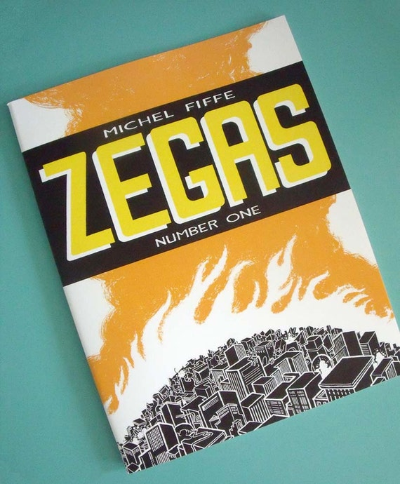 ZEGAS Issue One - Signed & Numbered Limited Edition Magazine Size Comic (ONE copy per order)