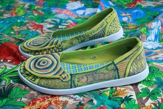Hypnotic Green Women's Shoes