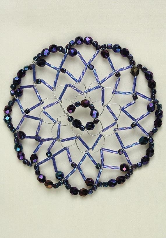 navy sparkle handmade s beaded and kippah
