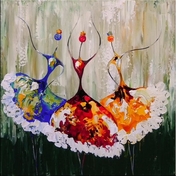 Abstract Ballet Paintings Abstract Ballet Ballerina