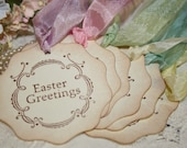 Easter Gift Tags - Easter Greetings - Spring Colors