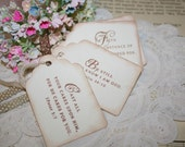 Gift Tags - Scripture Verses - Vintage Inspired