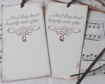 Wish Tree Wedding Tags - Happily Ever After - Set of 25