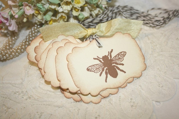 Gift Tags - Honey Bees - Favor Tags