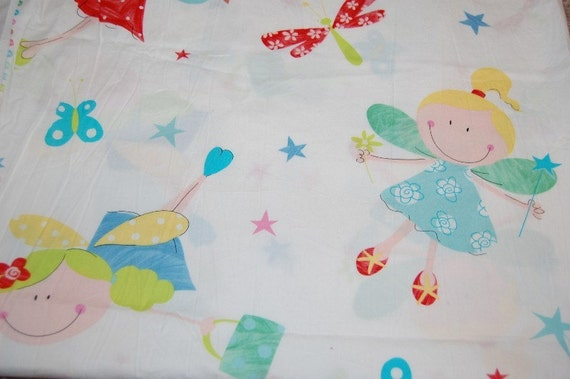 Euro Boutique Fairy Princess Fabric 1 yard Hard to Find