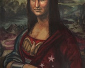 Wonder Mona Print- Wonder...