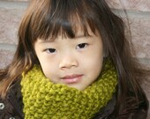 The Kiddy Kowl--A Safe And Easy Scarf Alternative --You Pick Your Colour--