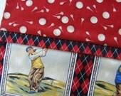Golf Balls and Tees Standard Pillowcase