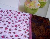 Chocolate Cupcake Pillowcase