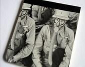 Gas Mask pocket Notepad